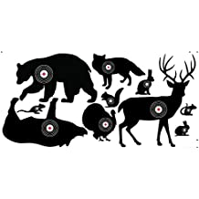 10 Durable Corrugated Plastic Animal Targets for Practice Shooting and Bowhunters