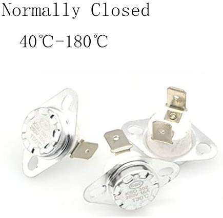 KSD302 16 A 250 V 40-180 Grad Keramik KSD301 normal geschlossen Temperaturschalter Thermostat 45 55 60 65 70 75 80 85, Produktdetails, 100 °C., Normally Close