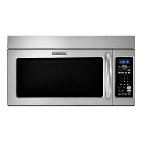Kitchenaid KHMC1857WSS Microwave Hood Combination Oven