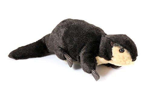 Folkmanis Mini River Otter Finger Puppet - F1822 B72 (Puppet Otter Folkmanis)