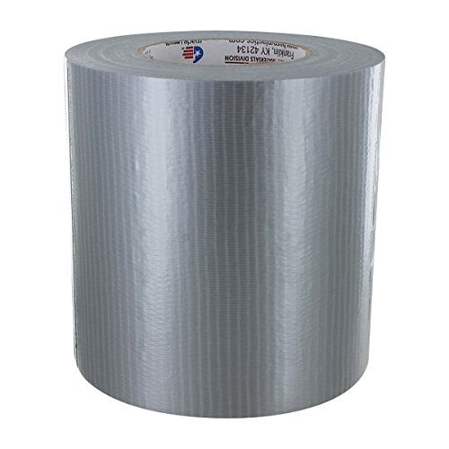 - Duct Tape 6 in x 60 yd - Silver - 9 mil - 1 Pack