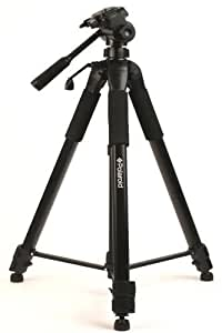 """Polaroid 75"""" Photo / Video ProPod Tripod Includes Deluxe Tripod Carrying Case + Additional Quick Release Plate For Digital Cameras & Camcorders"""