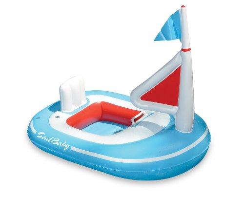 Inflatable Sailboat (Swimline Baby Sail Pool Float)