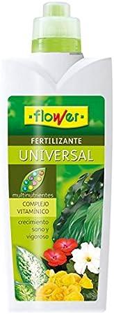 Flower 10504 10504-Abono líquido Universal, 1000 ml, No Aplica, 10.5x6.2x28.5 cm