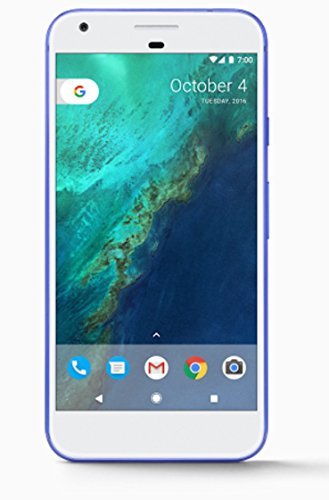 Google Pixel XL Phone 32GB - 5.5 inch display ( Factory Unlocked US Version ) (Really Blue)