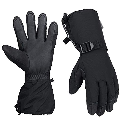 Ski Snowboarding Winter Cold Weather Gloves Thermal Protection 3M Thinsulate Insulation For Men And Women
