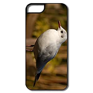 IPhone 5 5S Hard Plastic Cases, Seagull Bird White/black Covers For IPhone 5S