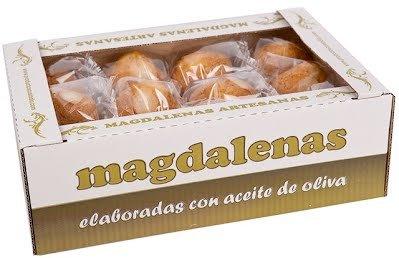 Caja con 24 unidades Magdalenas de aceite de oliva aprox.