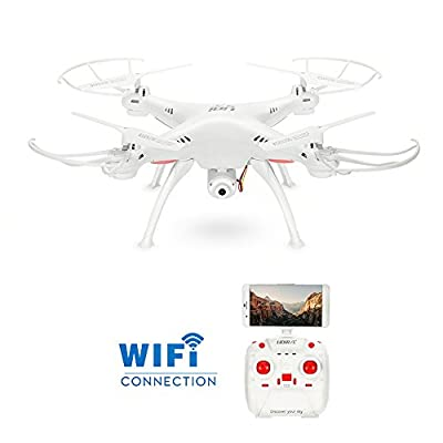 GoolRC L15W Wifi FPV Drone with Camera Live Video, Altitude Hold, 3D Flips, Headless Mode, One key Return RC Quadcopter from GoolRC