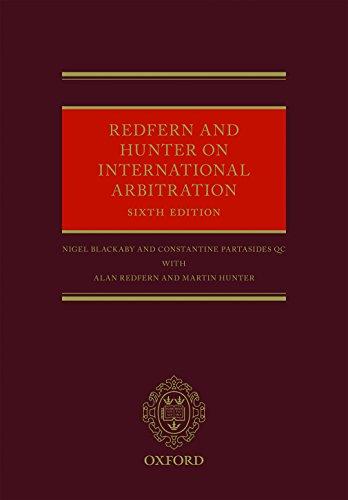 Redfern and hunter on international arbitration ebook nigel redfern and hunter on international arbitration por blackaby nigel partasides qc constantine fandeluxe Images