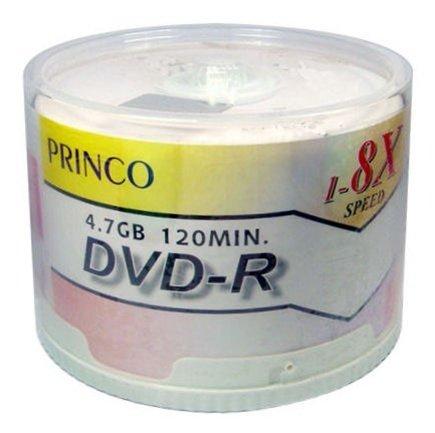 1,200 Princo 8X DVD-R 4.7GB White Top by Princo