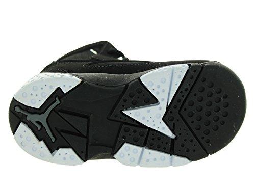 Nike Barn Svart Qtb Jordan Hvit Sko 010 343796 6k størrelse Flight pgZqfI