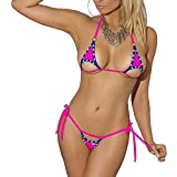 SSQUEEN Newest Euro-Style Mini Micro Bra and G-String Set Sexy Beach Suit