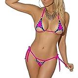 micro string bikini - SSQUEEN Newest Euro-Style Mini Micro Bra and G-String Set Sexy Beach Suit
