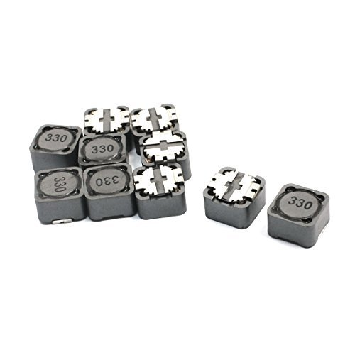 10 Stü ck 12mm x 12mm x 7mm Surface Mounting SMD SMT Inductor 33uH DealMux DLM-B00NQ6PQBS