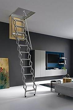 70 x 60 cm. Mister Step Escalera escamoteable para buhardillas ADJ