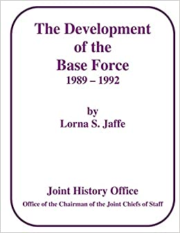Book The Development of the Base Force, 1989 - 1992