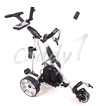 Ahowa Gmbh Elektro Trolleys.Caddyone Elektro Golf Trolley 450 Mit Funkfernbedienung