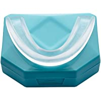4 piezas OzDenta Férula Dental Placa de Descarga Nocturna Protector Bucal para dormir anti Bruxismo Rechinar los dientes y los Trastornos del ATM