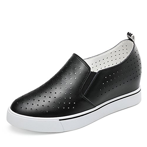 korean femelles Casual augmentation Dames Shoes Souliers Des soled style Fines Plat semelle Thick Shoes intérieure B Pour n11BqvrW