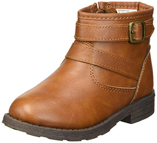 carter's Girls' Cindia Ankle Boot, Khaki, 9 M US Toddler