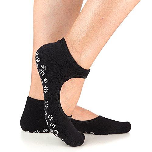 Yoga-Socks-Non-Slip-Skid-Barre-Pilates-Grips-Fitness-Dance-for-Women-by-Binygo