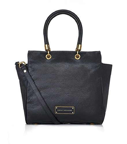 Marc by Marc Jacobs Too Hot To Handle Bentley Bag (Black/Gold) (Marc Jacobs Too Hot To Handle Bucket Bag)