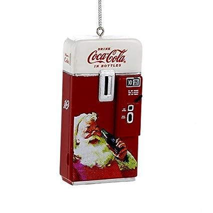 vintage retro coca cola vending machine coke christmas ornament decoration by kurt adler