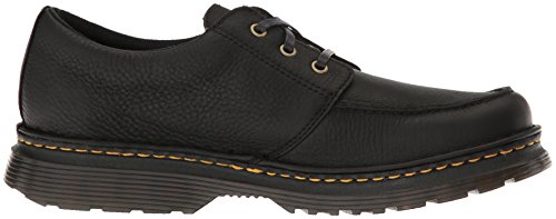 Dr.Martens Mens Lubbock Grizzly Leather Shoes Black