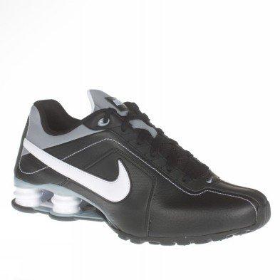 Shox Max Air (Nike Shox Conundrum Black/White-Steath-Steath Mens Shoes 407988-005-11.5)