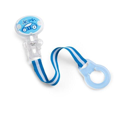 Born Free BPA-Free Pacifier Holder, Blue