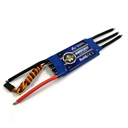 ZTW 80A Brushless ESC with 5.5V/3A Switch BEC output for rc airplane