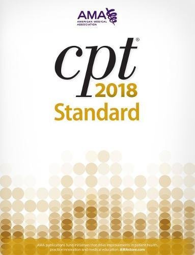1622025989 - CPT 2018: Standard Edition (Cpt / Current Procedural Terminology (Standard Edition))