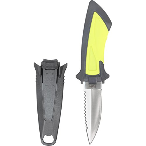 Tusa Mini Knife Great For BC Attachment - Dive Knife ()
