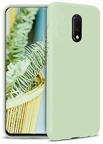 Wellpoint Slim Silicon Matte Soft Finish Flexible Back Cover Case for Oneplus 7