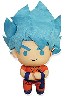 Great Eastern Dragon Ball GE-52368 Ssgss Super Saiyan Blue God Goku Stuffed Plush,