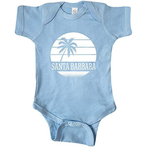inktastic - Santa Barbara California Infant Creeper 6 Months Baby Blue 356b4