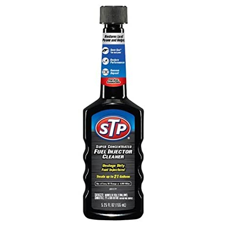 Amazon.com: STP 78577-6PK Super Concentrated Fuel Injector Cleaner 6, 2 Pack 5.25 fl. Oz Bottles, Fluid_Ounces: Automotive