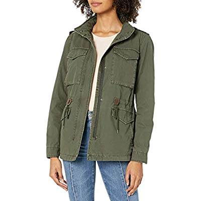 Levi's Women's Parachute Cotton Military Jacket: Clothing