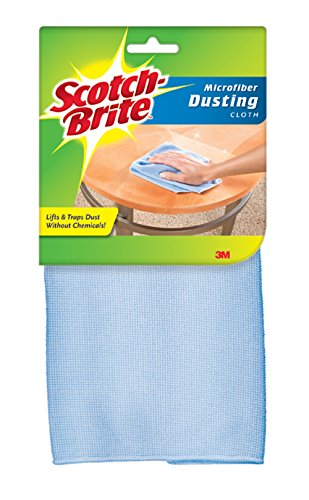 Brite Cleaning Microfiber Cloth Scotch - Scotch-Brite Dusting Microfiber Cloth, 1 ea (Colors May Vary)