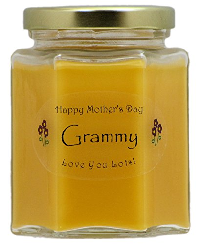 Just Makes Scents Grammy Mothers Day Candle - Mango Papaya Scented Mothers Day Gift Candle - Hand Poured in the USA by