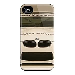 New Arrival Bmw M3 Alms Race Car Front For Iphone 4/4s Cases Covers