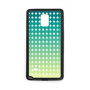Polka-Dot-Design---Green Samsung Galaxy Note 4 Cell Phone Case Black Phone cover SE8604332