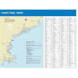 MAPTECH PAPER CHARTS Maptech ChartKit Book w/Companion CD - Block Island RI to Canadian Border