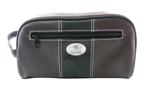 NCAA Alabama Crimson Tide Zep-Pro Toiletry Concho Bag, Brown