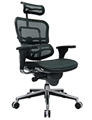 Eurotech Seating Ergohuman ME7ERG-GREEN(N) High Back Mesh Man...