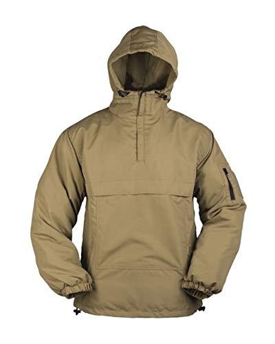 Mil-Tec Combat Summer Anorak Weather Jacket (X-Large, Coyote Tan)