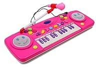 25 Keys Musical toys Music Electronic Keyboard Kids Piano Organ w/Mic& Adaptor/External…