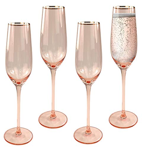Champagne Flutes Set of