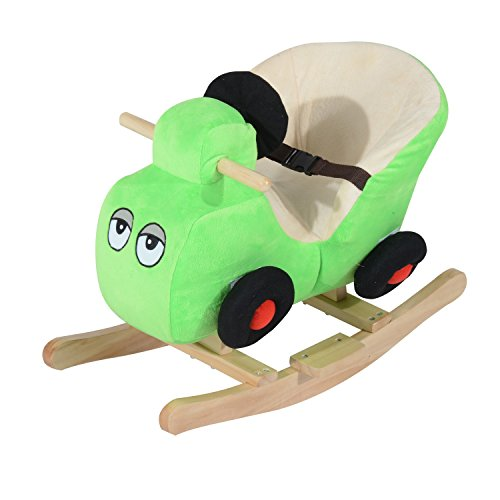 [Ride-on toys Plush Rocking Horse Car W/Different Nursery Rhymes With Ebook] (18 Month Old Lamb Costume)
